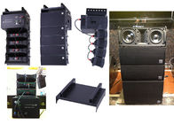 Mini Active Line Array Sound Equipment For Churches , Dual 5 Inch Line Array Speaker