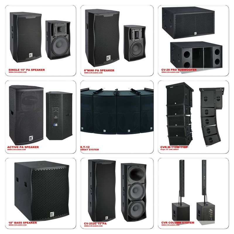 professional 12 inch 15 inch 18 inch speaker box conference speaker system. Black Bedroom Furniture Sets. Home Design Ideas