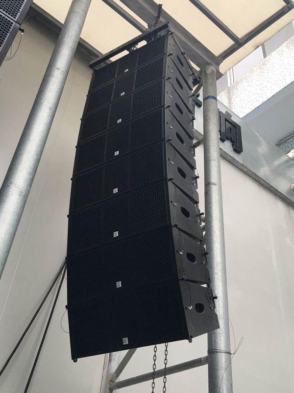 10 Inch Big Outdoor Line Array Speakers Sound And Light