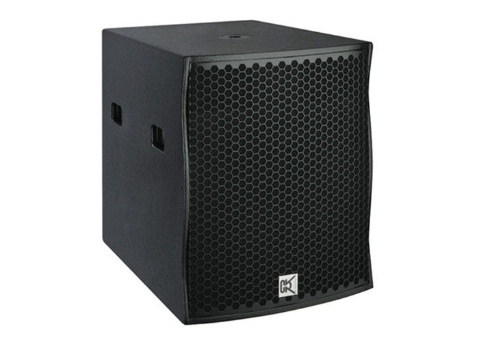 high end subwoofer dj sound system single 18 inch. Black Bedroom Furniture Sets. Home Design Ideas