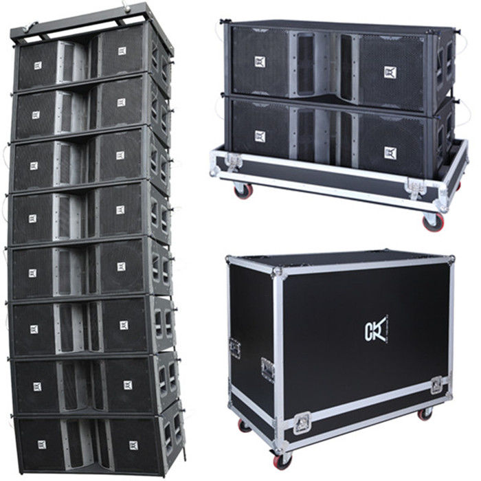 Professional Line Array Speakers Dual 12 Powered Musical