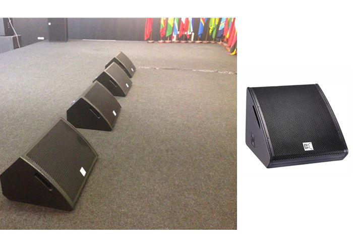 Wedge Active Stage Monitor Speakers 350watt Rms Plywood