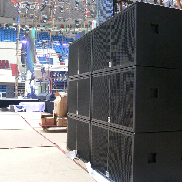 Horn Loaded Pro Audio Subwoofer Heavy Deep Sound Musicial Equipment , Audio Pro Loudspeakers