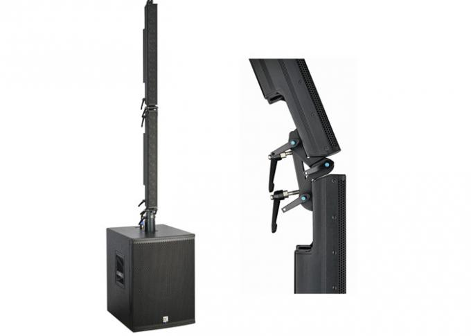 Column Array Speakers System Active Sound Equipment 2-Neutrik NL4