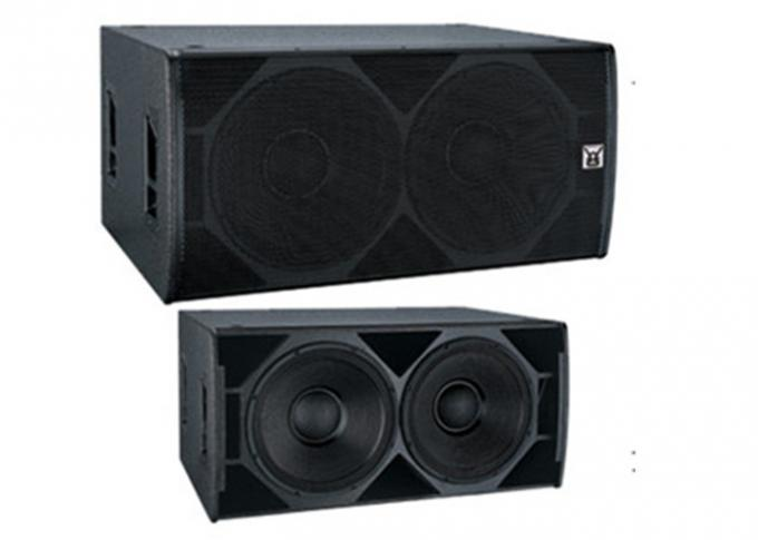 Front Loaded Stage Bass Reflex Subwoofer System Cabinet Sound Equipment