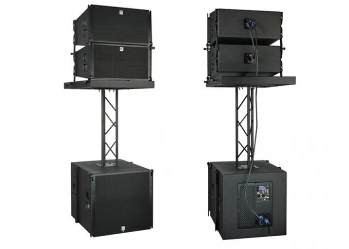 Stage Events Powered Line Array Speakers 10 Inch CVR PRO Audio