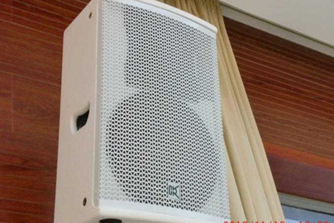 250W Conference Room Speaker Array Column system , Wireless Microphone Speaker System