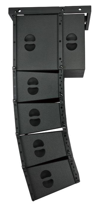 10 inch Line Array Church Sound Speaker Black Cabinet Club With Truss Sound Passive Hang Line Array