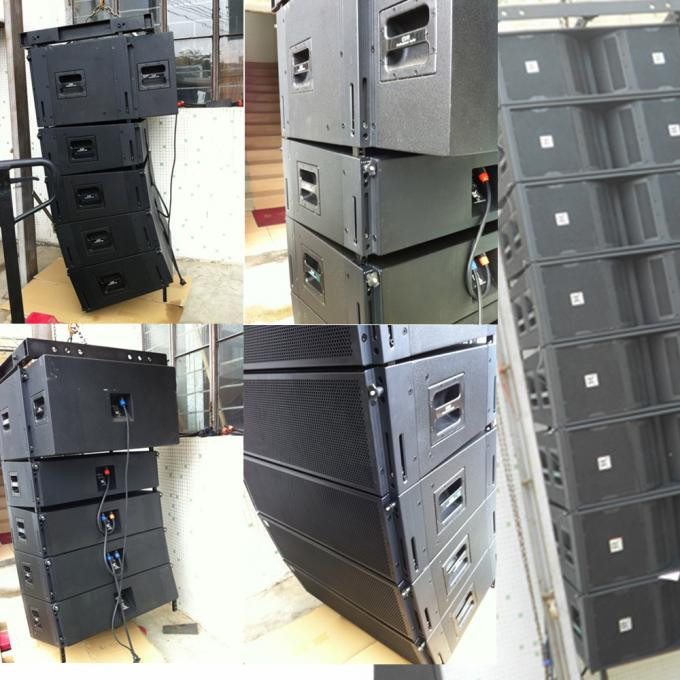 Flexible Active Line Array System , Conference Audio System Speaker Box