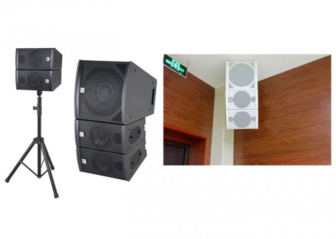 Mid Hi Small Wall Mount Speaker Conference Room Audio System CE / RoHS
