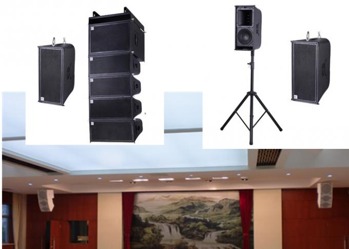 Active Line Array Sound System Small Mini Pa Speaker , Conference Audio System