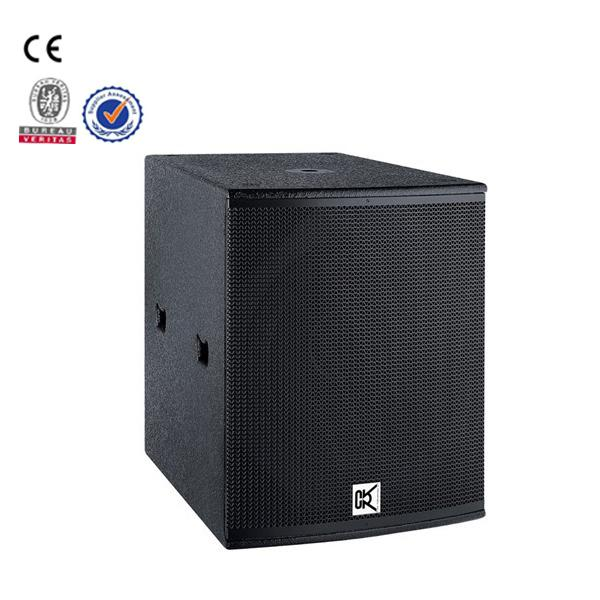 Single 18 Inch Conference Room Speakers Sub bass Box , Conference Room Audio Equipment