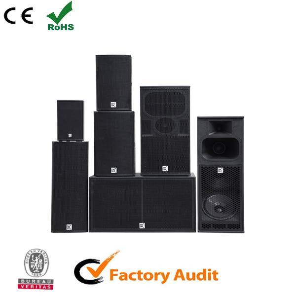 Stage Monitor Conference Room Speakers 12 Inch Double Indoor Sound System
