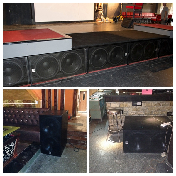 Church Pa System Two-Way Full Range Speaker Passive 300 Watt