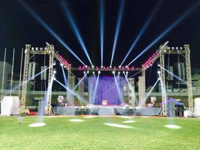 Concert Line Array Speaker Church Sound Equipment , church audio systems