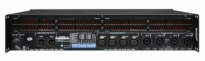 Professional Switching Power Amplifiers Music Instruments For Stage And Light