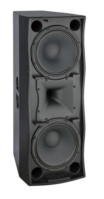 Two Way Full Range Loudspeaker Double 12 Inch Neodymium Compression Driver