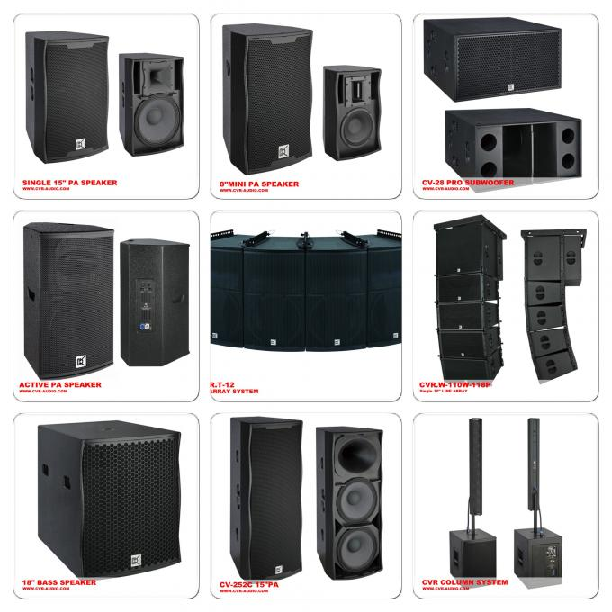 Self Powered Pa Church Sound Systems Live Band Audio Equipment