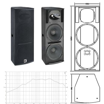 Powerful 15 Inch Conference Room Sound System For Outdoor Wedding Party