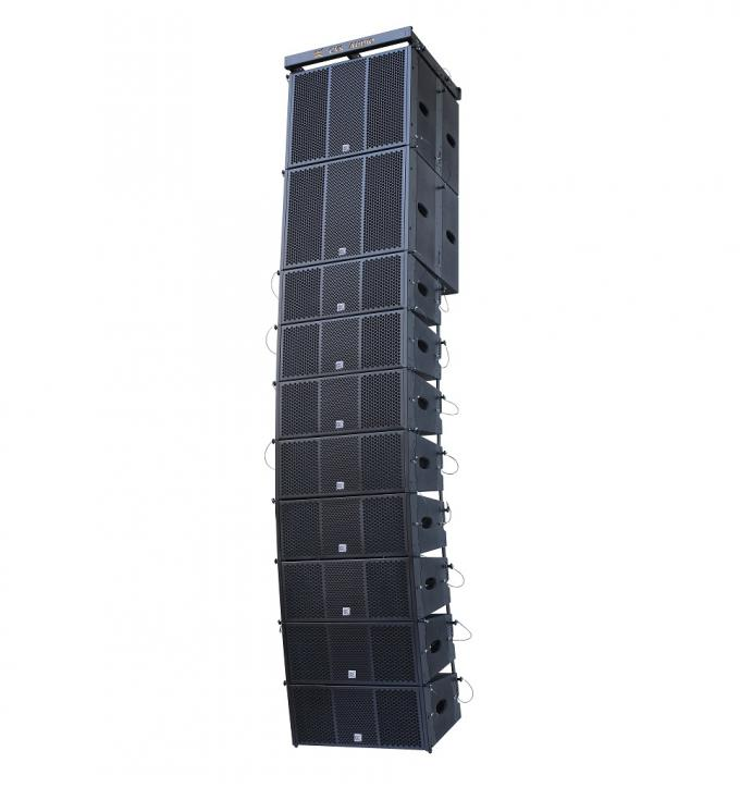 CVR Dual 8 Inch Passive and  Self Powered Sound Church big  Line Array Conference Room Speaker