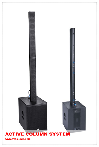 Column Bluetooth  Sound 200Watts 12 Inch Sub Bass Self Powered Line Array For Club And Bar Sound
