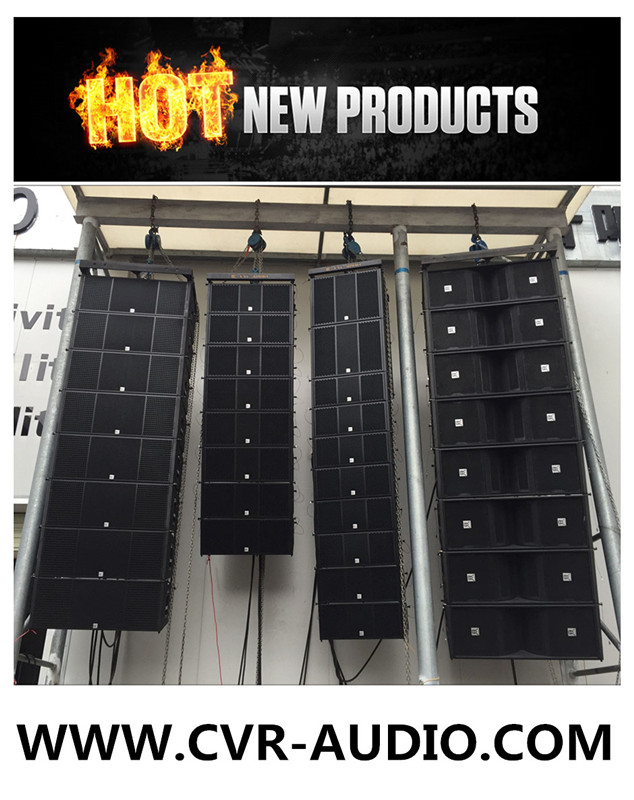 8 Ohm Active Line Array Speakers Church Audio Equipment Powered