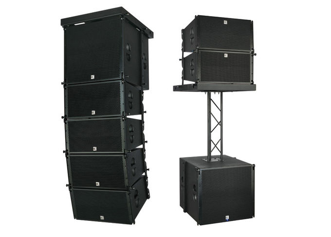 Professional Powered Active Line Array Speaker System 10'' 620W RMS